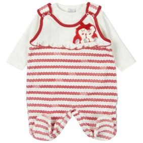 Велюровый комплект для девочки Baby Rose (код товара: 2234): купить в Berni
