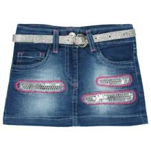 Джинсовая юбка для девочки Sani (код товара: 2664)