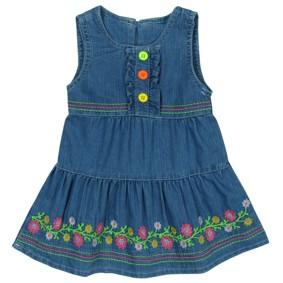 Джинсовое платье для девочки Sani (код товара: 2685): купить в Berni