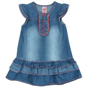 Джинсовое платье для девочки Sani (код товара: 2688): купить в Berni