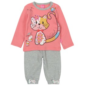 Костюм 2 в 1 для девочки Baby Sport оптом (код товара: 2856): купить в Berni