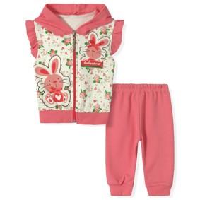 Костюм 2 в 1 для девочки Baby Sport оптом (код товара: 2946): купить в Berni