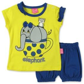 Костюм 2 в 1 для девочки Baby Sport (код товара: 3021): купить в Berni