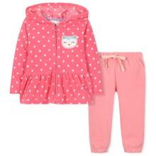 Флисовый костюм для девочки (код товара: 30653)