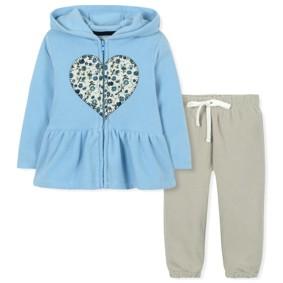 Флисовый костюм для девочки (код товара: 30654): купить в Berni