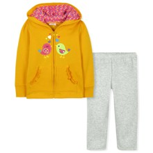 Утепленнный костюм для девочки (код товара: 30673)