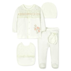 Комплект 10 в 1 для новорожденной девочки оптом (код товара: 30773): купить в Berni