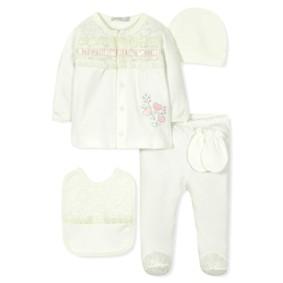 Комплект 10 в 1 для новорожденной девочки оптом (код товара: 30774): купить в Berni