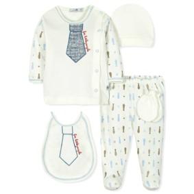 Комплект 5 в 1 для новорожденного мальчика оптом (код товара: 30771): купить в Berni