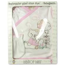 Набор 5 в 1 для новорожденной девочки Bebitof  оптом (код товара: 3151)