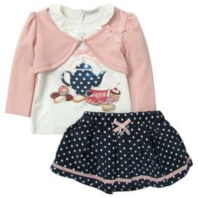 Комплект 3 в 1 для девочки Baby Rose (код товара: 3390): купить в Berni