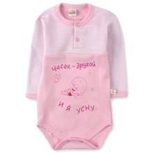 Боди с надписью для девочки Fantastic Baby оптом (код товара: 3590)