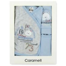 Набор 5 в 1 для новорожденного мальчика Caramell (код товара: 3650)