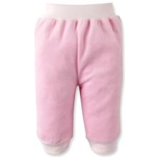 Велюровые штанишки для девочки Bonne Baby оптом (код товара: 3608)