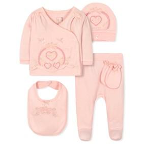 Комплект 5 в 1 для новорожденной девочки (код товара: 36661): купить в Berni