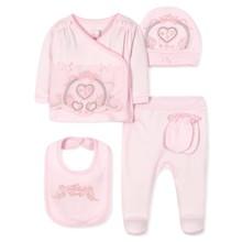 Комплект 5 в 1 для новорожденной девочки (код товара: 36662)