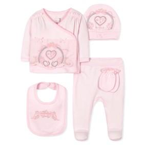 Комплект 5 в 1 для новорожденной девочки (код товара: 36662): купить в Berni