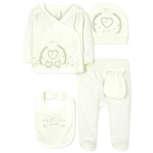 Комплект 5 в 1 для новорожденной девочки (код товара: 36663)
