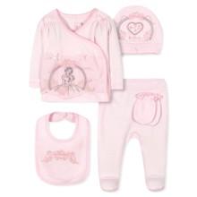 Комплект 5 в 1 для новорожденной девочки (код товара: 36668)
