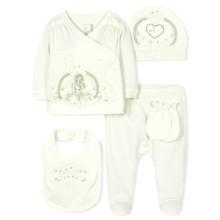 Комплект 5 в 1 для новорожденной девочки (код товара: 36670)