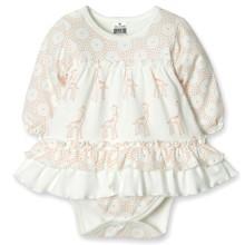 Боди-Платье для девочки Caramell оптом (код товара: 3890)