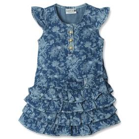 Джинсовое платье для девочки Sani (код товара: 3828): купить в Berni