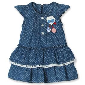Джинсовое платье для девочки Sani (код товара: 3835): купить в Berni