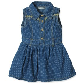 Джинсовое платье для девочки Sani (код товара: 3836): купить в Berni