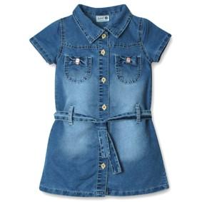 Джинсовое платье для девочки Sani (код товара: 3850): купить в Berni