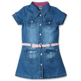 Джинсовое платье для девочки Sani оптом (код товара: 3851): купить в Berni
