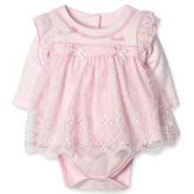 Нарядное Боди-Платье для девочки Caramell оптом (код товара: 3860)