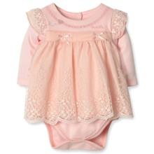 Нарядное Боди-Платье для девочки Caramell (код товара: 3862)