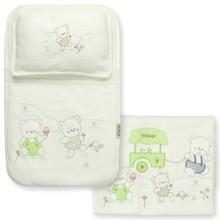 Набор постельного белья 3 в 1 для новорожденного Bebitof  оптом (код товара: 3997)