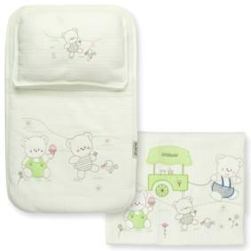 Набор постельного белья 3 в 1 для новорожденного Bebitof  (код товара: 3997): купить в Berni