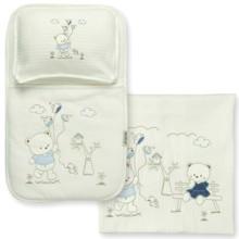 Набор постельного белья 3 в 1 для новорожденного Bebitof  (код товара: 3998)