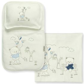 Набор постельного белья 3 в 1 для новорожденного Bebitof  (код товара: 3998): купить в Berni