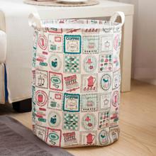 Корзина для игрушек, белья, хранения на завязках Кофе (код товара: 39685)