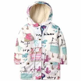 Куртка демисезонная на флисе для девочки оптом (код товара: 39734): купить в Berni