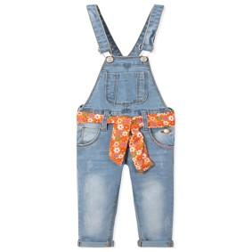 Комбинезон джинсовый для девочки оптом (код товара: 39865): купить в Berni