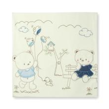Детское одеяло для новорожденного Bebitof оптом (код товара: 4027)