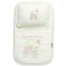 Набор постельного белья 2 в 1 для новорожденного Bebitof  оптом (код товара: 4009)