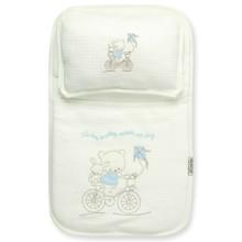 Набор постельного белья 2 в 1 для новорожденного Bebitof  оптом (код товара: 4011)
