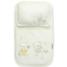Набор постельного белья 2 в 1 для новорожденного Bebitof  оптом (код товара: 4013)
