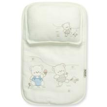 Набор постельного белья 2 в 1 для новорожденного Bebitof  (код товара: 4014)