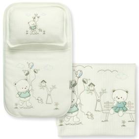 Набор постельного белья 3 в 1 для новорожденного Bebitof  (код товара: 4000): купить в Berni