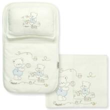 Набор постельного белья 3 в 1 для новорожденного Bebitof  (код товара: 4001)