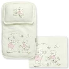 Набор постельного белья 3 в 1 для новорожденного Bebitof  (код товара: 4002)