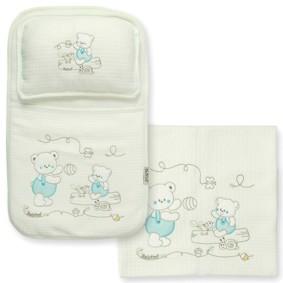 Набор постельного белья 3 в 1 для новорожденного Bebitof  (код товара: 4003): купить в Berni