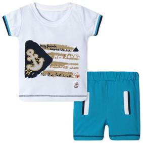 Костюм 2 в 1  для мальчика оптом (код товара: 40295): купить в Berni