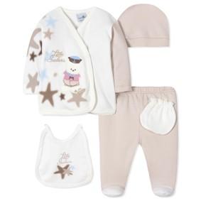 Комплект 5 в 1 для новорожденного мальчика (код товара: 40668): купить в Berni